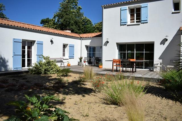 maison/villa jard sur mer Maison d'architecte